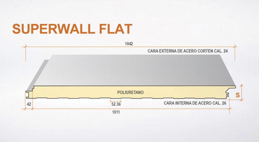 perfil-supwerwall-flat-materiales-tierra-y-metal